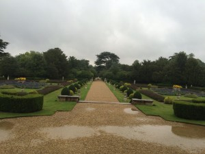 There is plenty to see at Belton House even if the weather is wet