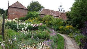 The Victorian walled gardens at Gunby Hall